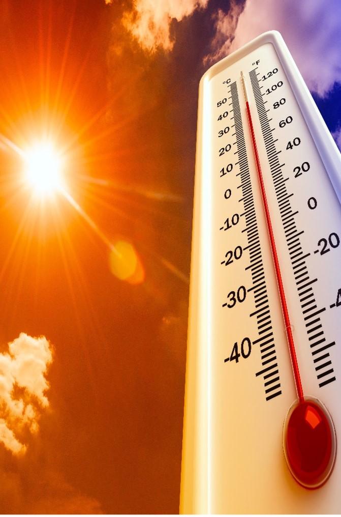 Planetary climate hot impact